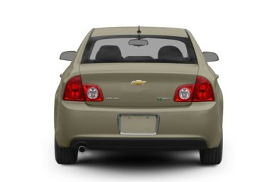 Rear Profile  2009 Chevrolet Malibu Hybrid