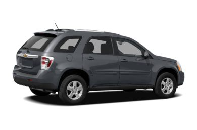 3/4 Rear Glamour  2009 Chevrolet Equinox
