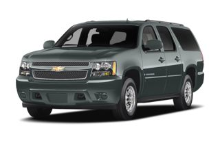 3/4 Front Glamour 2009 Chevrolet Suburban 2500
