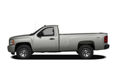 90 Degree Profile 2009 Chevrolet Silverado 1500