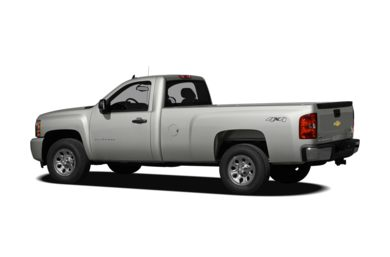 Surround 3/4 Rear - Drivers Side  2009 Chevrolet Silverado 1500