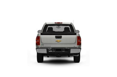 Surround Rear Profile 2009 Chevrolet Silverado 1500