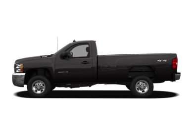 90 Degree Profile 2009 Chevrolet Silverado 3500HD