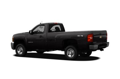 Surround 3/4 Rear - Drivers Side  2009 Chevrolet Silverado 2500HD