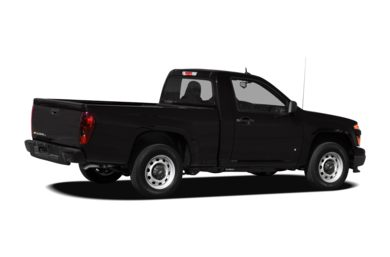 3/4 Rear Glamour  2009 Chevrolet Colorado