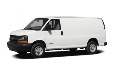 3/4 Front Glamour 2009 Chevrolet Express 1500