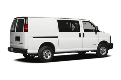 3/4 Rear Glamour  2009 Chevrolet Express 2500