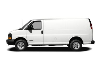 90 Degree Profile 2009 Chevrolet Express 2500
