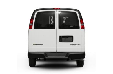 Rear Profile  2009 Chevrolet Express 2500