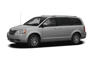 3/4 Front Glamour 2009 Chrysler Town & Country