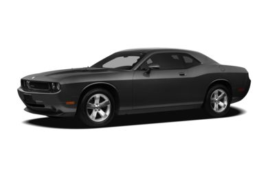 3/4 Front Glamour 2009 Dodge Challenger