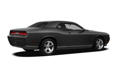3/4 Rear Glamour  2009 Dodge Challenger