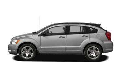 90 Degree Profile 2009 Dodge Caliber