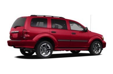 3/4 Rear Glamour  2009 Dodge Durango