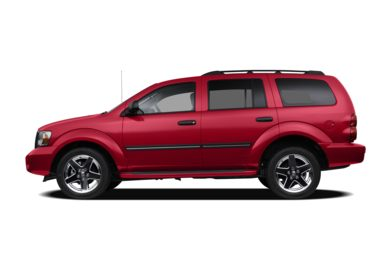 90 Degree Profile 2009 Dodge Durango
