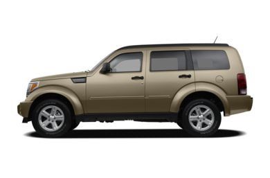 90 Degree Profile 2009 Dodge Nitro