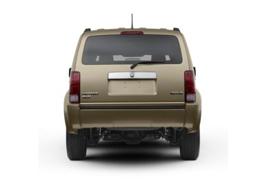 Rear Profile  2009 Dodge Nitro