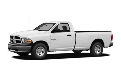 3/4 Front Glamour 2009 Dodge Ram 1500