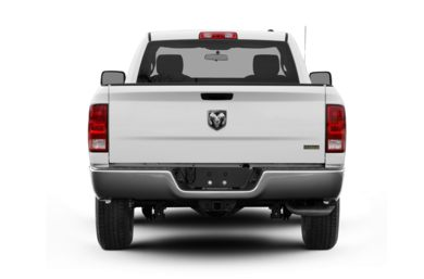 Rear Profile  2009 Dodge Ram 1500