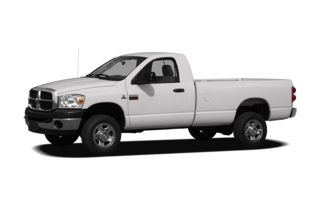 3/4 Front Glamour 2009 Dodge Ram 2500