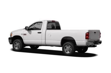 Surround 3/4 Rear - Drivers Side  2009 Dodge Ram 2500