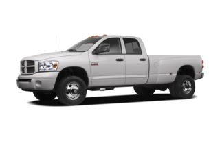 3/4 Front Glamour 2009 Dodge Ram 3500