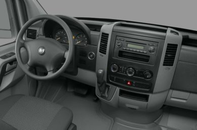 Interior Profile  2009 Dodge Sprinter Van 3500