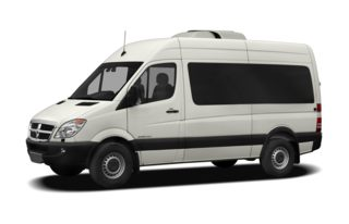 3/4 Front Glamour 2009 Dodge Sprinter Wagon 2500