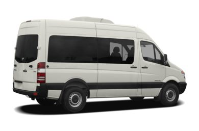 3/4 Rear Glamour  2009 Dodge Sprinter Wagon 2500