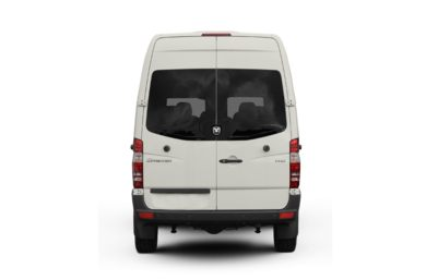 Rear Profile  2009 Dodge Sprinter Wagon 2500