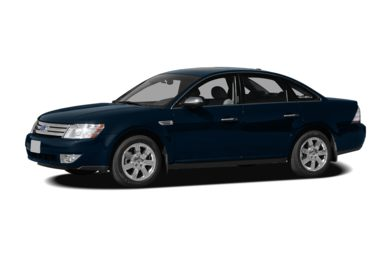 3/4 Front Glamour 2009 Ford Taurus