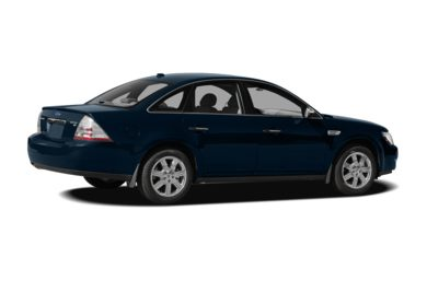 3/4 Rear Glamour  2009 Ford Taurus