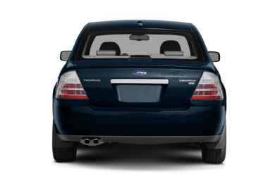 Rear Profile  2009 Ford Taurus