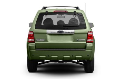 Rear Profile  2009 Ford Escape Hybrid
