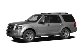 3/4 Front Glamour 2009 Ford Expedition