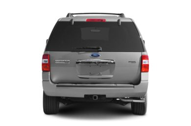 Rear Profile  2009 Ford Expedition