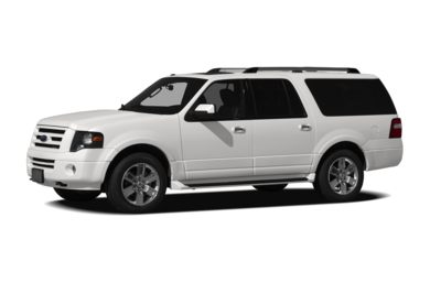 3/4 Front Glamour 2009 Ford Expedition EL