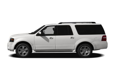 90 Degree Profile 2009 Ford Expedition EL