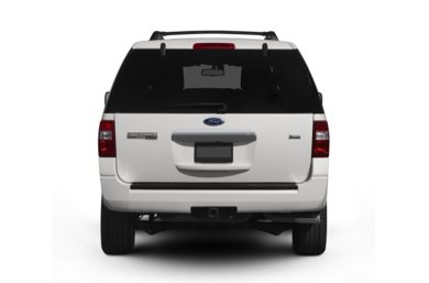 Rear Profile  2009 Ford Expedition EL