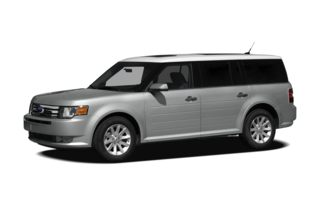 3/4 Front Glamour 2009 Ford Flex