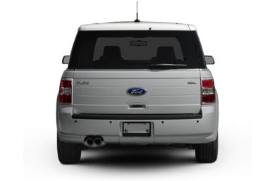 Rear Profile  2009 Ford Flex