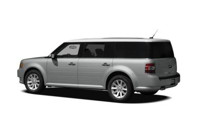 Surround 3/4 Rear - Drivers Side  2009 Ford Flex