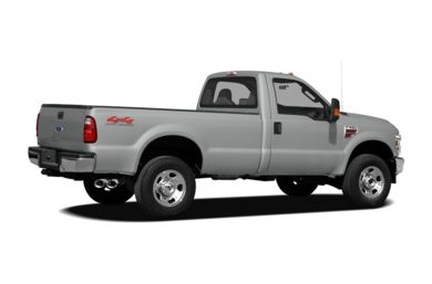 3/4 Rear Glamour  2009 Ford F-250