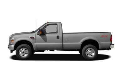 90 Degree Profile 2009 Ford F-250