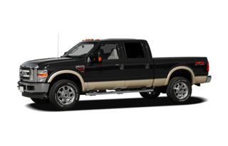 3/4 Front Glamour 2009 Ford F-350