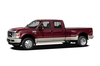 3/4 Front Glamour 2009 Ford F-450