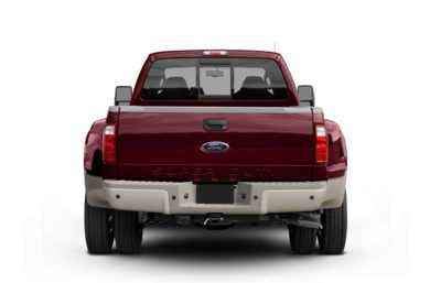 Rear Profile  2009 Ford F-450