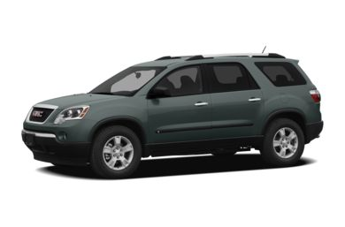 3/4 Front Glamour 2009 GMC Acadia