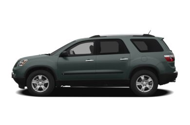 90 Degree Profile 2009 GMC Acadia