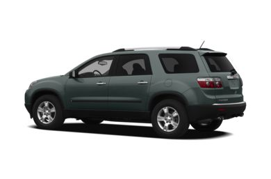 Surround 3/4 Rear - Drivers Side  2009 GMC Acadia